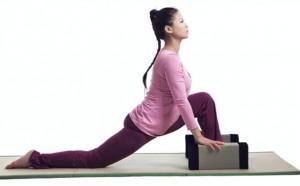 Cuscino tatami Yoga Block utilizzo