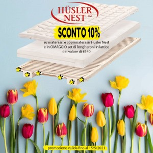 HUSLER-NEST-materasso-svizzero-promo-primavera-2021-Onfuton-light