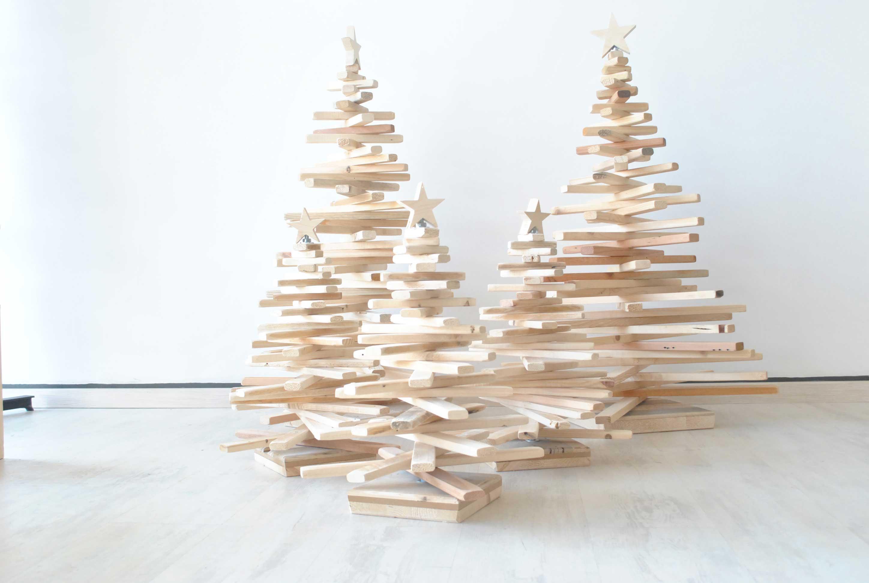 Albero Di Natale In Legno Ecosia