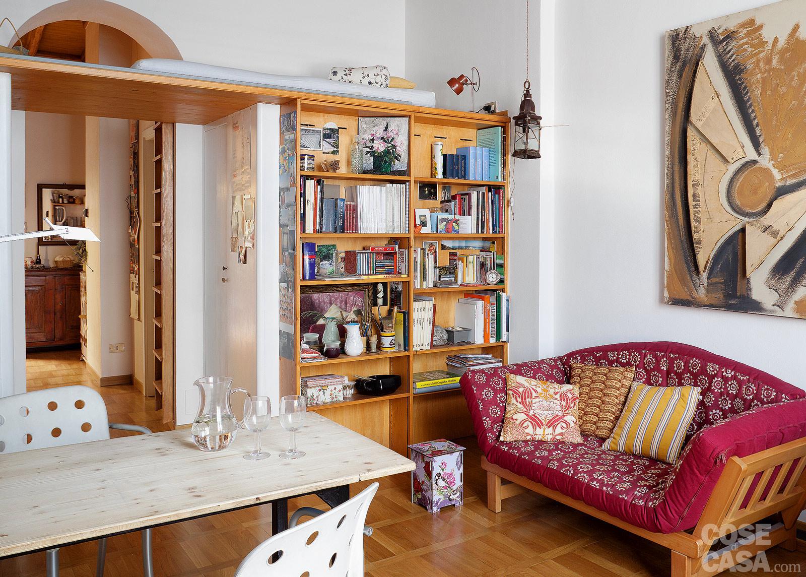 Cose di casa divano letto mago onfuton piccolo for Divano letto matrimoniale piccolo