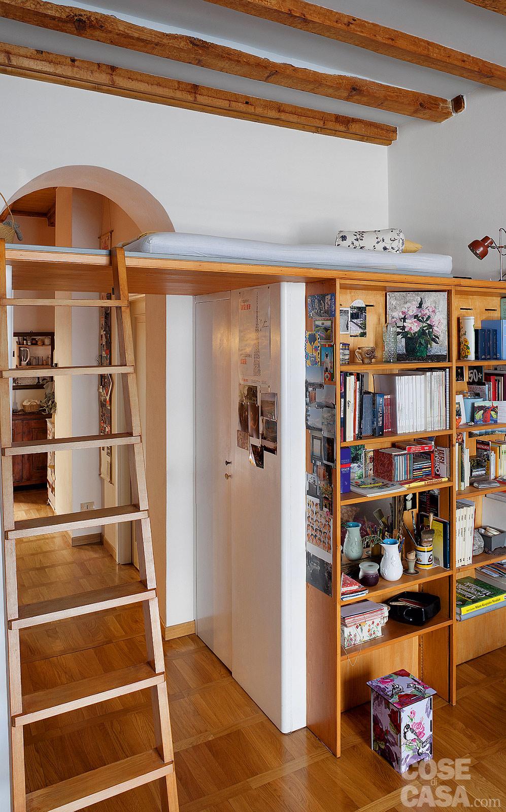 Cose di casa divano letto mago onfuton piccolo appartamento a milano 5 onfuton - Altezza minima bagno ...