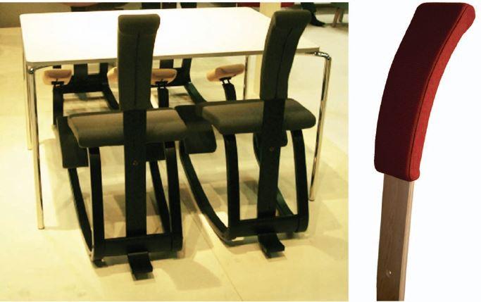 cuscino schienale variable varier sedie ergonomiche - Onfuton