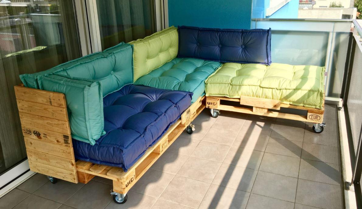 Cuscini divano pallet idee per il design della casa - Ikea cuscini divano ...