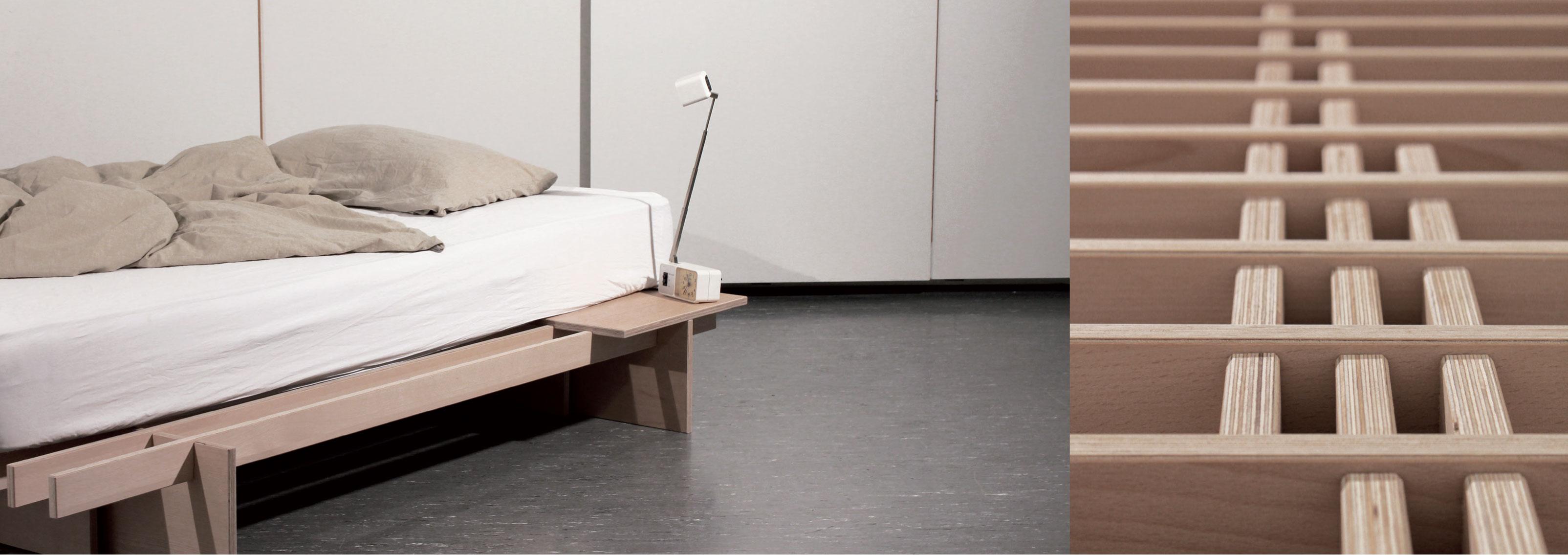 letto Dogo design ecologico doghe legno giapponese naturale (1) - Onfuton