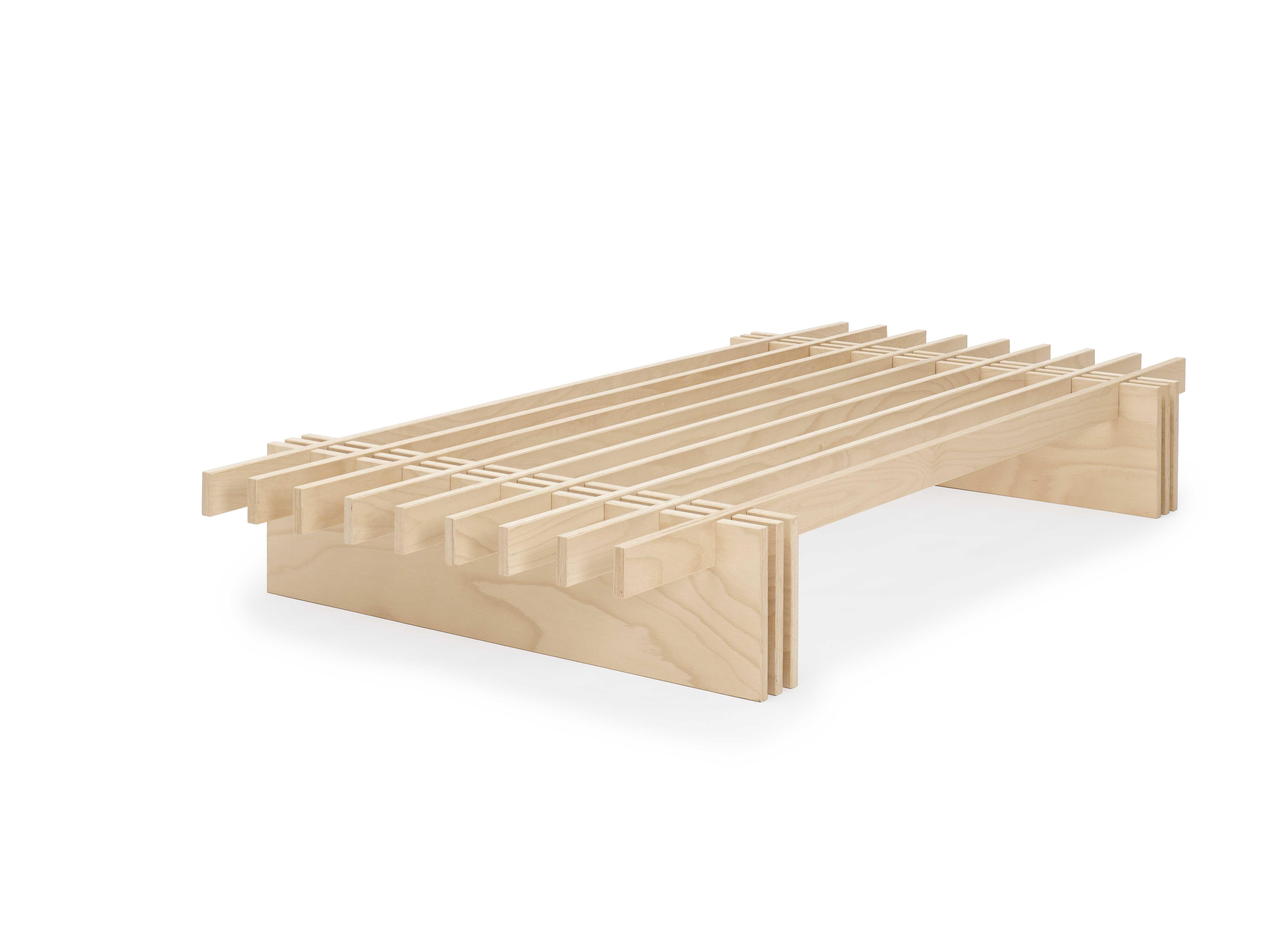 letto Dogo design ecologico doghe legno giapponese naturale (2) - Onfuton