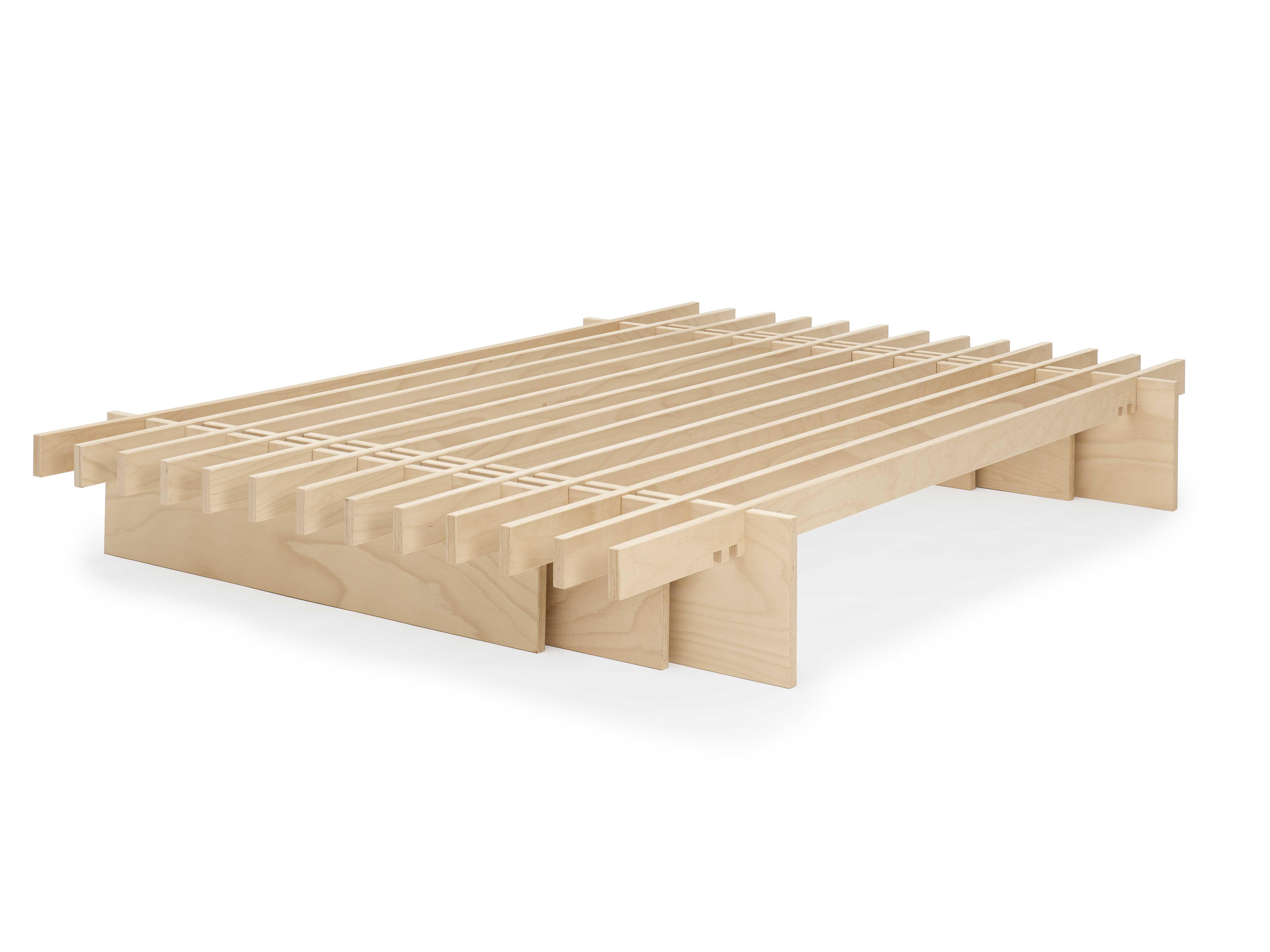 letto Dogo design ecologico doghe legno giapponese naturale (3) - Onfuton